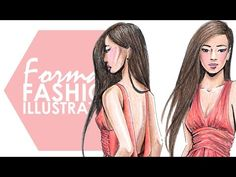 Fashion Illustration - My Complete Narrated Process (Part 2) - YouTube