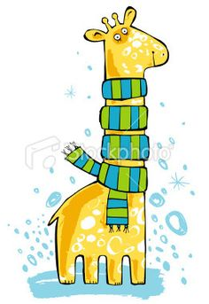 I plan to blatantly copy this ultra cute giraffe drawing for ... on Twitpic