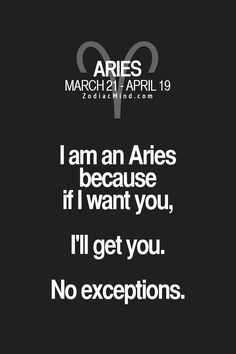 Aries determined