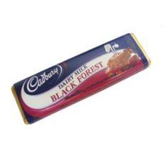 New Zealand Cadbury s Black Forest Chocolate Bar 45g