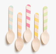 eco friendly ice cream spoons