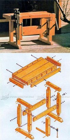 Sturdy Workbench Plans - Workshop Solutions Plans, Tips and Tricks | WoodArchivist.com