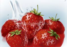 Storyboard, Illustrator, Strawberry, Fruit, Food, Meal, The Fruit, Essen, Illustrators