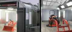 GFS Releases ETL Listed Paint Booths for Medium Sized Equipment & Vehicles - GFS Booth Blog