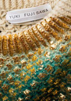 2014 AW YUKI FUJISAWA - Sweater Detailing                                                                                                                                                      More