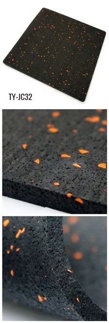 Rubber Sheet with colorful EPDM fleck to be used in gyms, playground, kindergarten etc.