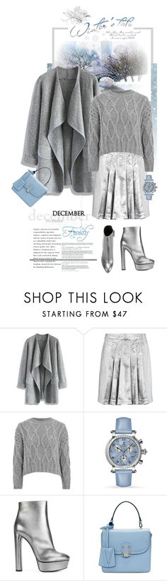 """""""Happy Birthday December Babies!!!"""" by shortyluv718 ❤ liked on Polyvore featuring Chicwish, 8, Topshop, Allurez, Casadei and Versace"""