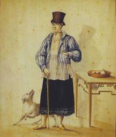 """Esperidion de la Rosa. """"El Gobernadorcillo de Mestizos"""" (Mayor of Mestizos). Between 1820-1840. Watercolor on paper. 32 cm. X 23.5 cm. Private Collection.http://www.skyscrapercity.com/showthread.php?t=1591738"""