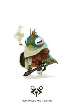 ArtStation - Princess and the Frog, Janice Chu