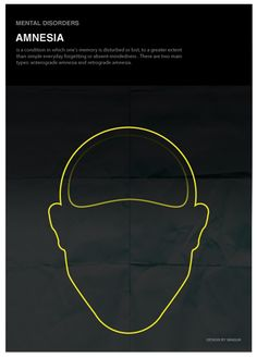 'Minimal posters about mental disorders': Amnesia