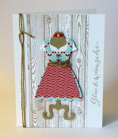 Karte / Card, Stampin Up, Dress up