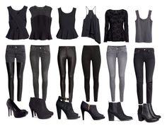 """""""Katherine Pierce Inspired Outfits von H & M"""" von mytvdstyle ❤ mochte auf Polyv Hm Outfits, Fandom Outfits, Outfits For Teens, Stylish Outfits, Fashion Outfits, Fashion Clothes, Vampire Outfits, Fashion Boots, Look Fashion"""