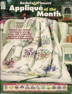 93 Applique of the month vasos de flores - maria cristina Coelho - Picasa Albums Web