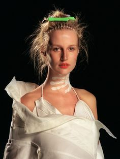 """A portrayal of domestic violence? The controversial """"homeless"""" collection by John Galliano for Christian Dior, Haute Couture S/S2000"""