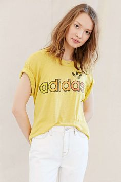 Vintage Adidas Ombre Tee - Urban Outfitters