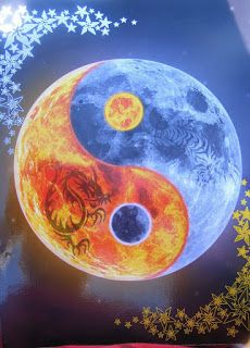 Sun Moon yin yang by CameronPeter Arte Yin Yang, Ying Y Yang, Yin Yang Art, Yin And Yang, Ying Yang Wallpaper, Galaxy Wallpaper, Yen Yang, Ying Yang Symbol, Tiger Tattoo
