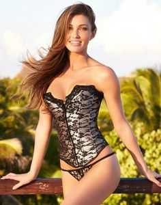 304efb30e1 Bare your your shoulders and fierce shape in our embroidered corset