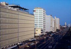 A sede dos SMAE na Av. Pinheiro Chagas (actual Av. Dr. Eduardo Mondlane) em Lourenço Marques, anos 1970.