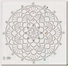 FREE DIAGRAMS ~ Loza: Round motifs