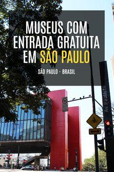 Museus com entrada gratuita em São Paulo - Brasil