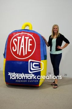 STATE BAGS Give Back Pack #inflatable #statebags