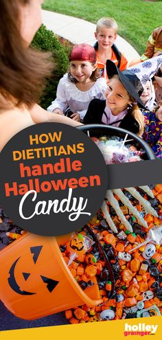 Should you be limiting Halloween candy? Is there a right or wrong way to parent through the pile of sugar? Dietitians share their best tips and tricks for a happier and (slightly) healthier Halloween. Easy Halloween Snacks, Healthy Halloween, Halloween Candy, Sibling Costume, Halloween Season, Gym Humor, Dietitian, Sugar, Fit Quotes