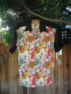 Day Of The Dead Camp Shirt Size 44-46  XL by impressatations