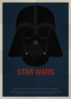 Star Wars Movie Poster /// Alejandro de Antonio Fernandez