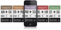 Flight Card iphone app