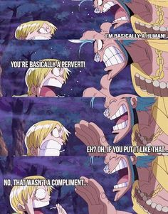 Franky and Sanji 'Basically of Pervert' // One Piece