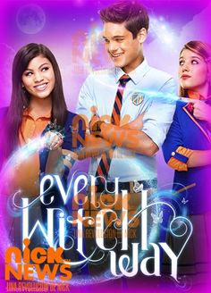 Every Witch Way, a show on Nick. New episodes every weeknight so check your local listings!