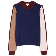 Kenzo Color Block Knit Pullover
