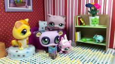 Easy DIY Custom LPS Doll Accessories: How to Make a Tiny Bookcase Book S...