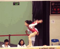 (gif of Wu Jing's BHS+tuck full)i wanna learn how to do that. Gymnastics Facts, Gymnastics Tricks, Tumbling Gymnastics, Gymnastics Skills, Gymnastics Training, Rhythmic Gymnastics, Amazing Gymnastics, Artistic Gymnastics, Fighting Moves