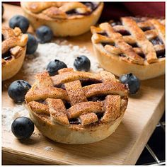 Musselman's® Baby Blueberry Pies. This will be great with any flavor of pie filling!