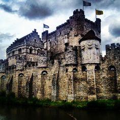 Gravensteen / Castle of the Counts in Gent, Oost-Vlaanderen