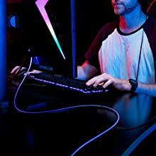 The World's First Fiber Optics HDMI Gaming RGB Light – Gameller   Gaming Gear Hdmi Cables, Gaming Setup, Above And Beyond, Fiber Optic, Games, World, Gaming, The World, Plays