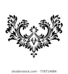 Beautiful elegant pattern with ornament and place for text. Vector illustration. EPS 10.