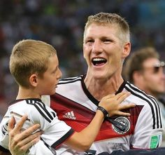 Basti & one of Klose's son