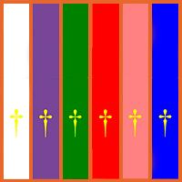 ¿Qué significan los Colores Litúrgicos y cuándo se usan? Catholic Icing, Bible Activities For Kids, Tips To Be Happy, Religion Catolica, God Of War, Angeles, Classroom, Craft Ideas, Christ