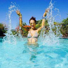Wherever you go, make a BIG splash 💦 #foreveronvacation  #coachella #alebyalessandraswim: at @nordstrom #aleblings: http://bit.ly/1yIUypP at @baublebar