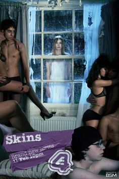 watch Skins tv shows online Series Movies, Tv Series, Skins Generation 1, Movie Theater Snacks, Hannah Murray, Skins Uk, The Best Films, Tv Shows Online, Music Tv