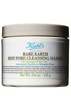 rare earth deep pore cleansing mask / kiehl's