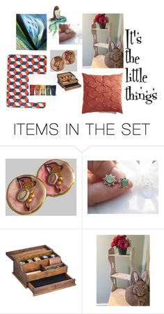 """""""It's the little things"""" by underlyingsimplicity ❤ liked on Polyvore featuring art, vintage, jewelry and decor"""
