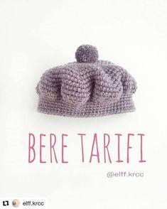#Repost @elff.krcc with @repostapp ・・・ Hadi hanımlar buyrun birlikte örelim. #elifleörüyoruz #minnosbere etiketlerini kullanırsanız bende ördüklerinizi görebilirim☺ İp/yarn: Nako Sport Wool Tığ/hook: 5.0 mm *Bereyi sık iğne tekniğiyle örüyoruz. Sıkı değil, bol örmeniz gerek. 1. Sihirli halka icine 8 sık iğneyle başlıyoruz 2. Her ilmeğe çift batıyoruz 3. Bir tek,bir çift 4. İki tek,bir çift 5. Üç tek,bir çift 6. Dört tek,bir çift 7. Beş tek,bir çift 8. Altı tek,bir çift 9. Yedi tek,...