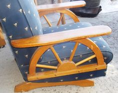 Wagon Wheel Furniture From The 1950 S Kool Kitsch For