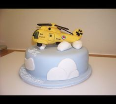 helicopter cake