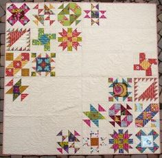 The Sister 10 Quilt / Nice patchwork and enough space for quilting :-)/.