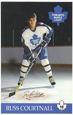 Russ Courtnall Sports Stars, Sports Pics, Hockey Games, Vancouver Canucks, Nfl Fans, Sports Figures, National Hockey League, Toronto Maple Leafs, Hockey Players