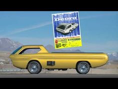 Penned by the California-based Harry Bradley and constructed by the Alexander Brothers of Detroit, the famous Deora was honored with the coveted Ridler Award. Dodge Trucks, Pickup Trucks, Hot Wheels Cars, Kustom, Mopar, Concept Cars, Cars And Motorcycles, Cool Cars, Zoom Zoom